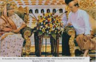Visit of the Hon'ble Prime Minister Sheikh Hasina to Myanmar