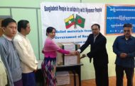 Humanitarian assistance for flood victims of Myanmar